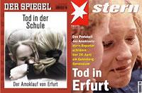 SPIEGEL und STERN Titelbild 19/2002
