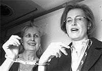 Monika Buttler und Alexandra Guggenheim