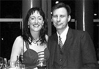 Brigitte Schweikart mit Ehemann