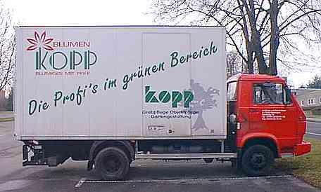 BLUMEN KOPP - Die Profi's im grünen Bereich (17 KByte)
