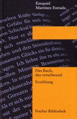 Cover: Ezequiel Martínez Estrada, Das Buch, das verschwand