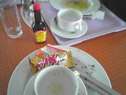 Nach dem Essen