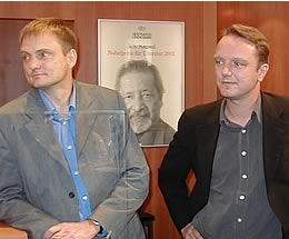Stefan Maskiewicz (links) und Julius Raabe