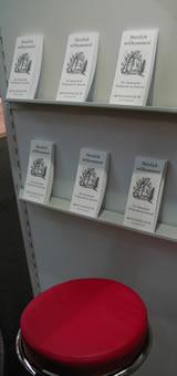Impression vom Literatur-Café stand