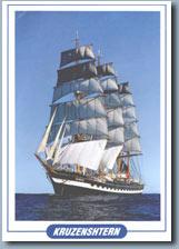 Postkarte von der Kruzenshtern
