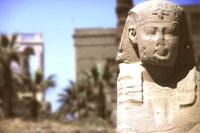 Beim Luxor-Tempel
