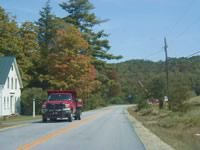 Die Straßen von Vermont