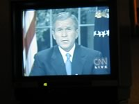 Lass Präsidenten sprechen