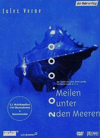 Cover der Hör-DVD: 20.000 Meilen unter den Meeren