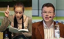 Anna Thalbach und Wolfgang Tischer lesen (Foto: CMA)