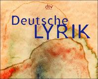 Cover: Deutsche Lyrik von den Anfängen - Hier klicken für mehr Infos zum Werk...