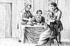 Zu Tisch mit seinen Wohltätern