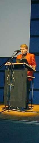 Wolfgang Tischer bei seinem Vortrag