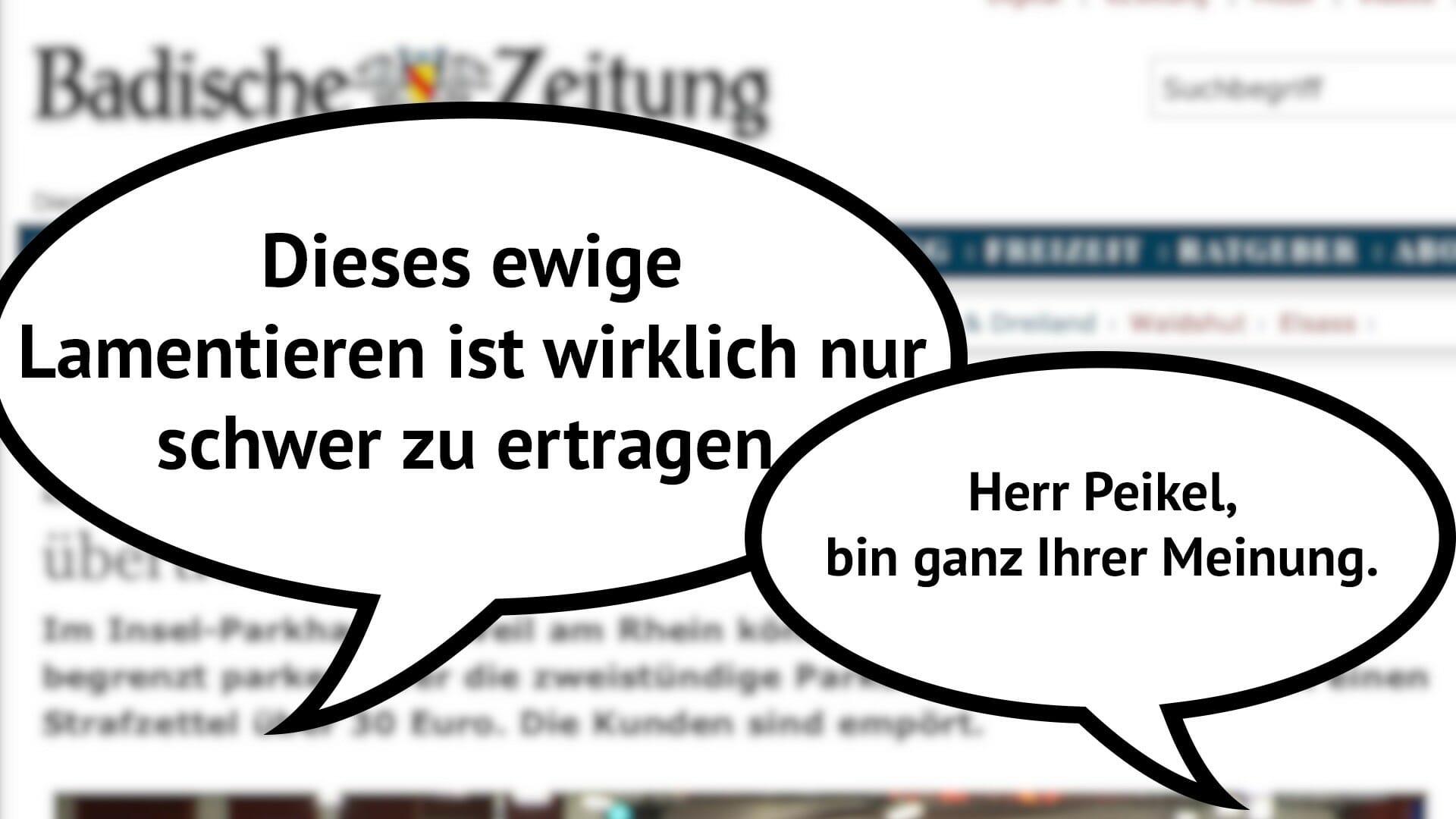 Nutzer kommentieren »Sind 30 Euro für vergessene Parkscheiben übertrieben?«
