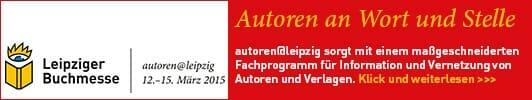 Leipziger Buchmesse – autoren@leipzig 12.-15. März 2015