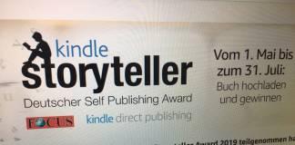 Kindle Storyteller Award 2019: Solch ein Schund!