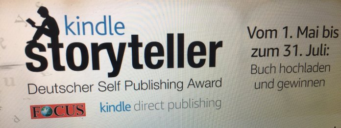 Kindle Storyteller Award 2019