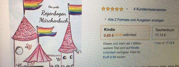 »Das große Regenbogen Märchenbuch« (sic!) von Jule Markwald