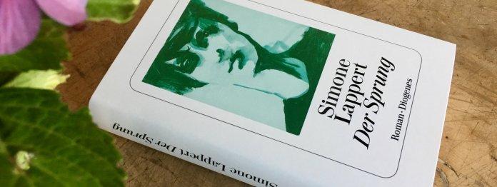 »Der Sprung« von Simone Lappert