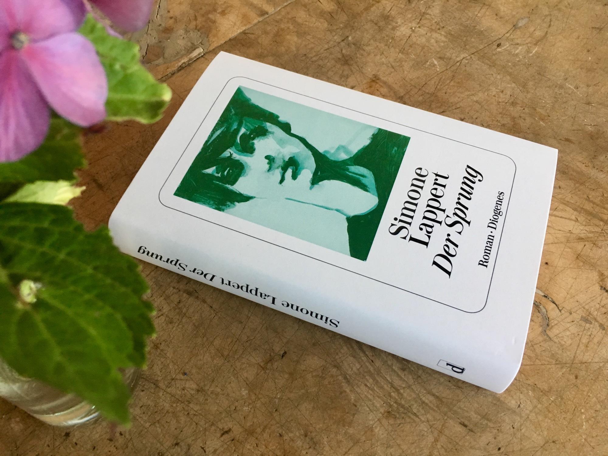 Der Sprung Binge Reading Mit Simone Lappert