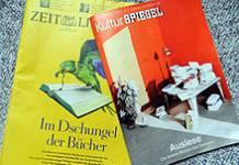 Literaturbeilagen von ZEIT und SPIEGEL