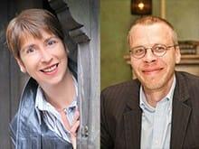 Rebecca Gablé und David Gray (Foto Rebecca Gablé: © Olivier Favre 2011)