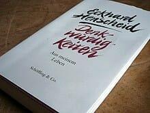 Buchumschlag: Eckard Henscheid - Denkwürdigkeiten
