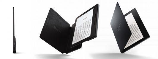 Kindle Oasis - Die Lederhülle verlängert die Akkulaufzeit (Bild:Amazon)