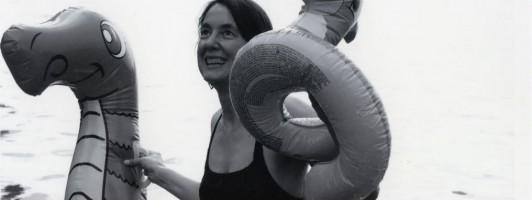 Klagenfurt Bachmannwettschwimmen Kathrin Passig