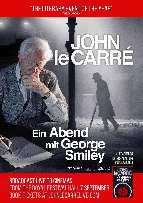 Deutsches Kinoplakat der am 7. September 2017 live übertragenen Lesung