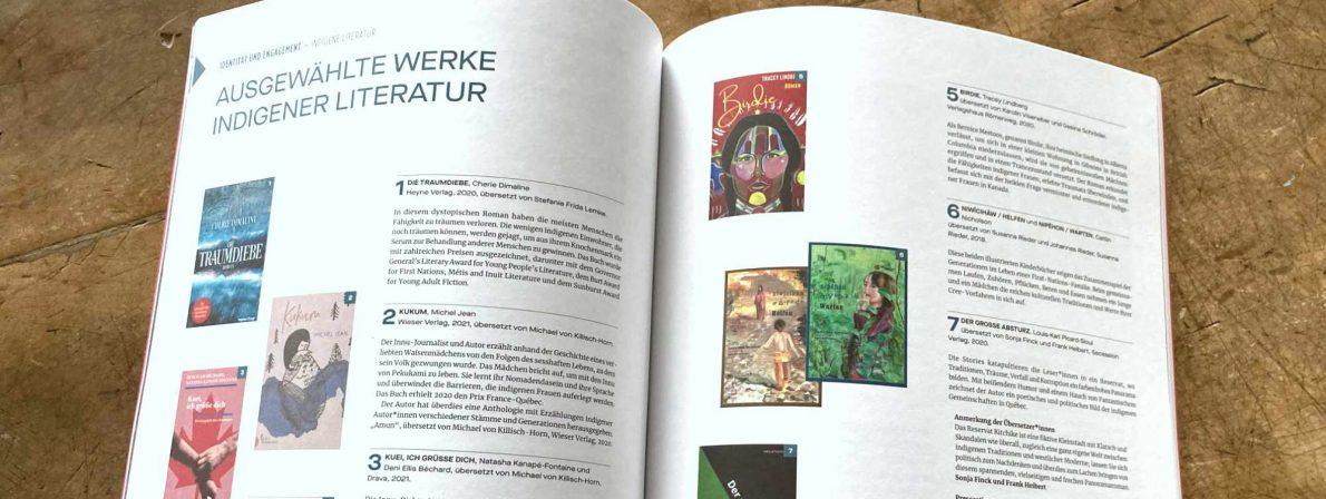 Hilfreich und informativ: Zu jedem Themengebiet werden aktuelle deutsche Übersetzungen aufgeführt.