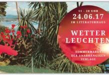 Wetterleuchten im Stuttgarter Literaturhaus