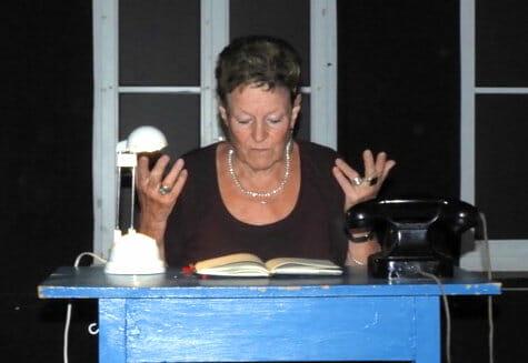 Adi Hübel liest auf der Kulturnacht Ulm des Jahres 2020