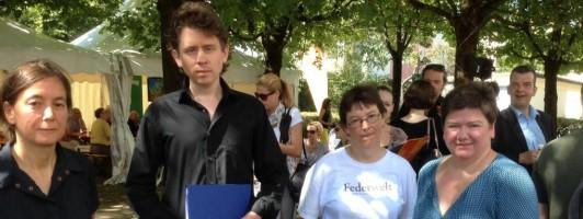 """Erster Gewinner: """"Federwelt Preis der Automatischen Literaturkritik"""" (5000 €) an Michael Fehr #alk"""