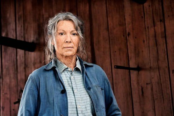 Iris Berben spielt die ältere und alte Vera Eckhoff in der Romanverfilmung »Altes Land« von Dörte Hansen. (Foto: ZDF/Mathias Bothor)