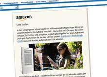 Durch die Hintertür: Amazons eBook-Lesegerät Kindle kommt nach Deutschland