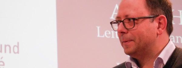 André Hille im Gespräch auf der Leipziger Buchmesse 2016