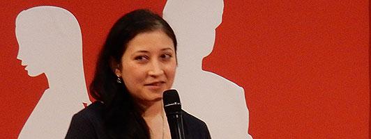Anna Galkina auf der Leipziger Buchmesse 2016