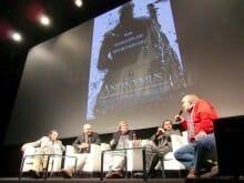 Diskussion über den Film Anonymus: Kurt Kreiler, Roland Emmerich, Hellmuth Karasek, Tobias Döring und Frank Günther (v.l.n.r)