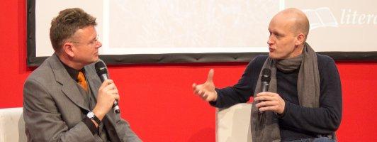 Gestern Gast auf der Bühne: Arno Geiger über Wahrhaftigkeit in der Literatur