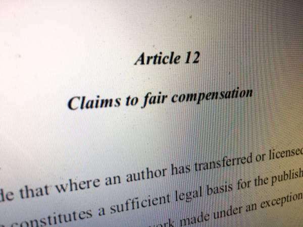 Artikel 12 der Urheberrechtsreform: Warum Buchautoren künftig weniger verdienen werden