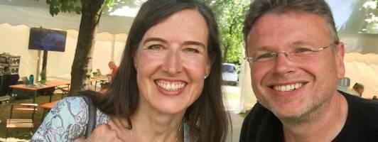 Astrid Poppenhusen und Wolfgang Tischer