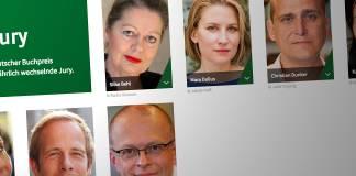 Ausschnitt aus der Website des Deutschen Buchpreises