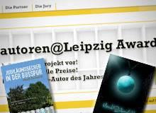 autoren@leipzig Award - Die Preisträger des 1. Self-Publishing-Wettbewerbs stehen fest