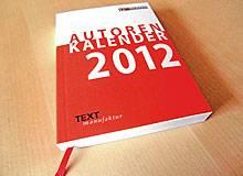 Endlich: Das Jahr 2012 hat wieder einen Autorenkalender