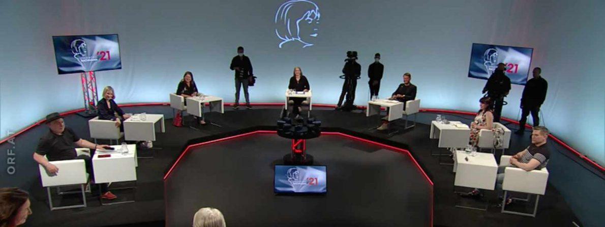 Die Jury 2021 im Studio