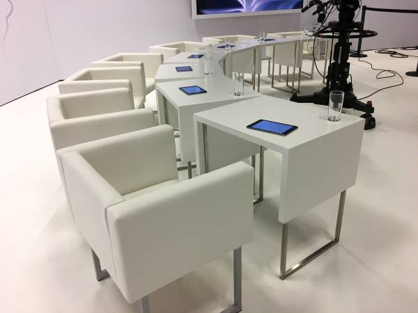 Jury-Sitze beim Bachmannpreis