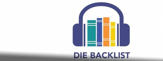 Das Logo von »Die Backlist« – Ein Bücher-Podcast von Tom Hillenbrand