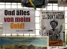 Protest gegen Stuttgart 21: Ein Bauzaun in zwei Büchern