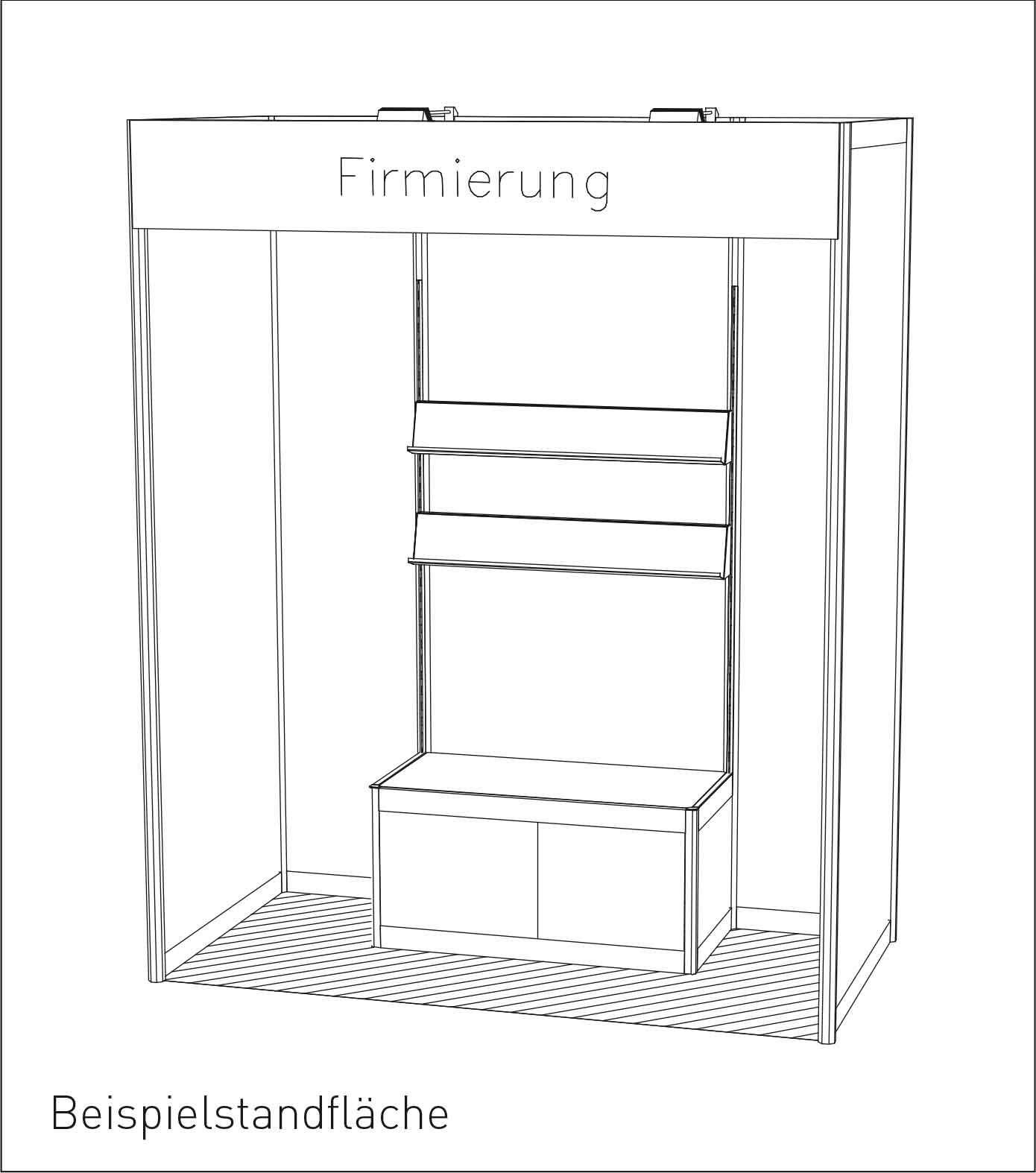 Beispiel eines Autorenstands auf der Leipziger Buchmesse 2015